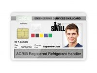 ACRIB F Gas Skillcard goes smart